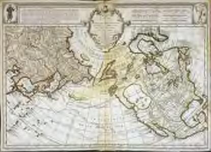 Carte des nouvelles découvertes au nord de la mer du Sud
