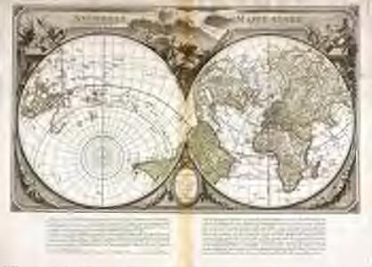 Nouvelle mappe monde