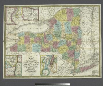 Map of the state of New York : compiled from the latest authorities.