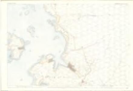 Ross and Cromarty, Ross-shire Sheet CXXII.7 - OS 25 Inch map