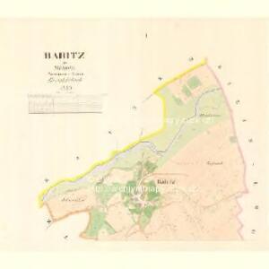 Babitz - m0018-1-001 - Kaiserpflichtexemplar der Landkarten des stabilen Katasters