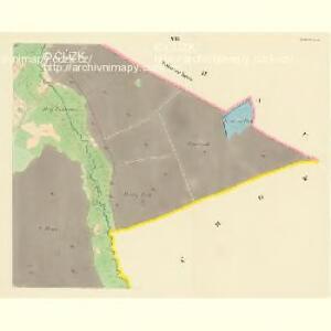 Borkowitz - c0380-1-007 - Kaiserpflichtexemplar der Landkarten des stabilen Katasters