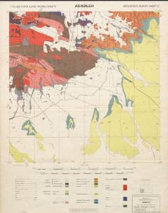 1 : 125,000 Somaliland Protectorate. Geological Survey. D.C.S. 1076, Adadleh
