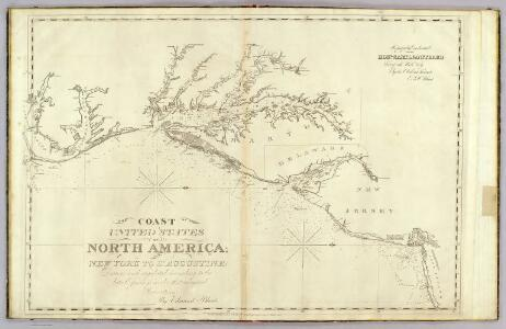 The coast of the United States from New York to St. Augustine (2nd sheet)