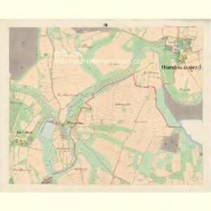 Ostrolow-Augezd - c5550-3-003 - Kaiserpflichtexemplar der Landkarten des stabilen Katasters