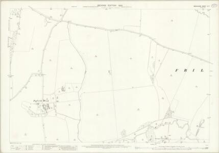 Berkshire IX.7 (includes: Frilford; Fyfield; Garford; Kingston Bagpuize; Tubney) - 25 Inch Map