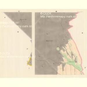 Schweine (Swinow) - m1030-1-003 - Kaiserpflichtexemplar der Landkarten des stabilen Katasters