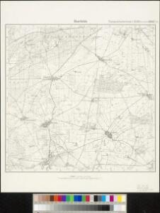 Meßtischblatt 3550 : Beerfelde, 1932