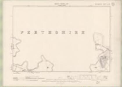 Stirlingshire Sheet X.SW - OS 6 Inch map