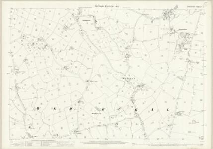 Shropshire XIV.11 (includes: Wem Rural) - 25 Inch Map