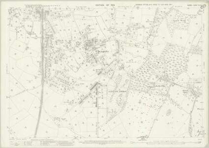 Surrey XII.15 (includes: Long Ditton; Thames Ditton) - 25 Inch Map