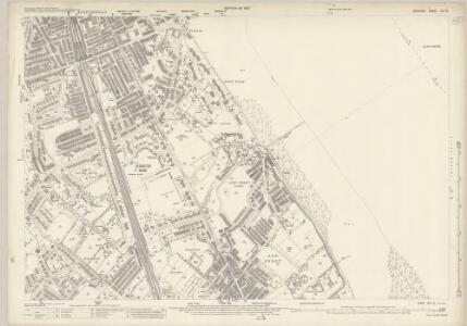 Cheshire XIII.12 (includes: Bebington and Bromborough; Birkenhead St Mary) - 25 Inch Map