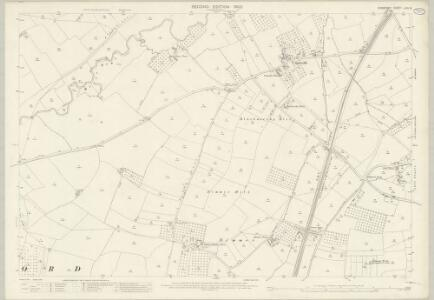 Somerset LXIV.8 (includes: Alford; Ansford; Castle Cary; Ditcheat) - 25 Inch Map