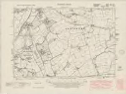 Denbighshire XXII.SW - OS Six-Inch Map