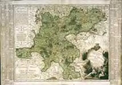 Carte du gouvernement militaire de l'Isle de France