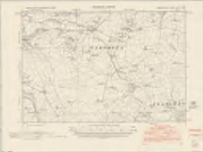 Cardiganshire XXVI.SW - OS Six-Inch Map