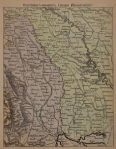 Rumänisch-russische Grenze (Bessarabien)