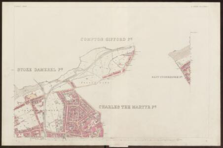 Devon CXXIII.8 (inset CXXIII.7) (includes: Devonport; East Stonehouse; Plymouth) - 25 Inch Map