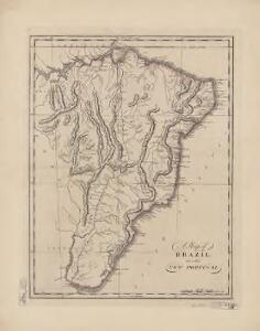 A map of Brazil, now called New Portugal