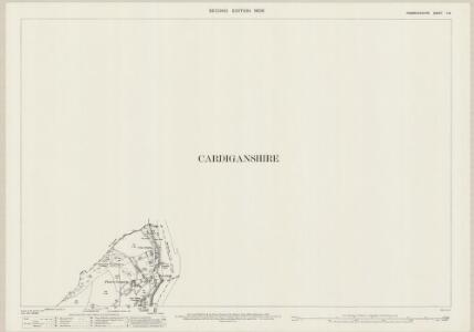 Pembrokeshire II.8 (includes: Cardigan; St Dogmaels) - 25 Inch Map