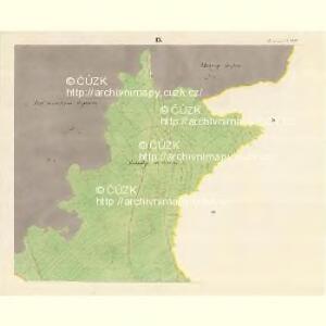 Horniemtsch - m0805-1-009 - Kaiserpflichtexemplar der Landkarten des stabilen Katasters