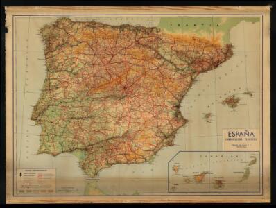 España: comunicaciones terrestres