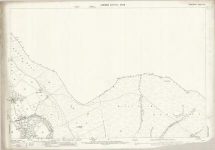 Derbyshire VII.2 (includes: Bradfield; Derwent; Hope Woodlands) - 25 Inch Map
