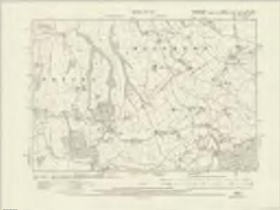 Shropshire VI.NE - OS Six-Inch Map