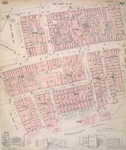Insurance Plan of London Vol. VIII: sheet 183