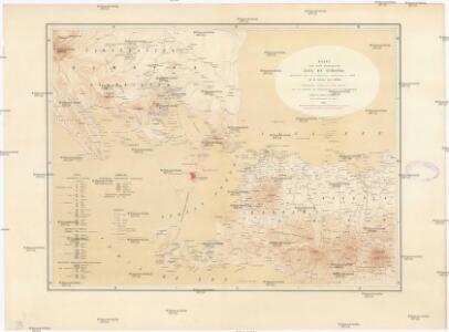 Kaart van Het Gedeelte Java en Sumatra