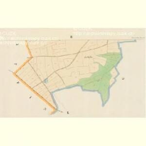 Triesenhof - c7490-1-002 - Kaiserpflichtexemplar der Landkarten des stabilen Katasters