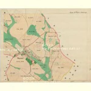 Mayres - m1735-1-003 - Kaiserpflichtexemplar der Landkarten des stabilen Katasters
