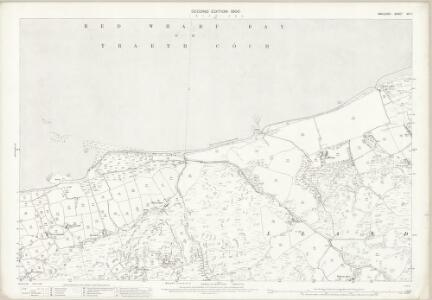 Anglesey XIV.7 (includes: Llanddona; Pentraeth) - 25 Inch Map