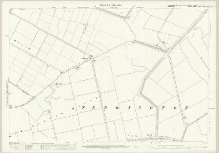 Lincolnshire CXLIVA.2 (includes: Central Wingland; Terrington St Clement) - 25 Inch Map