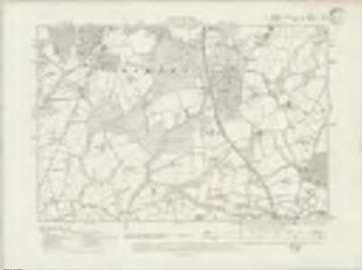 Sussex II.NE - OS Six-Inch Map