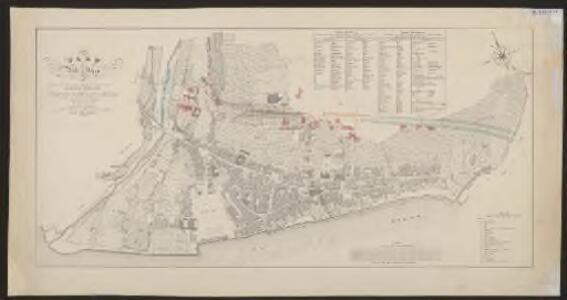 Plan de la ville de Vevey