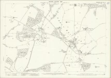 Berkshire XXVIII.10 (includes: Ashampstead; Basildon; Bradfield) - 25 Inch Map