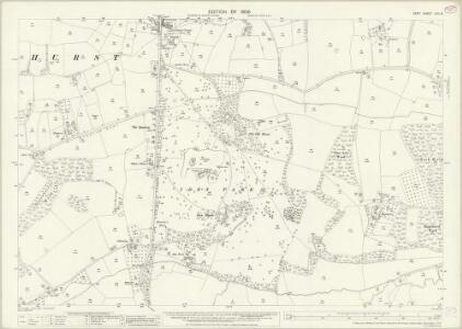 Kent LXII.8 (includes: Staplehurst) - 25 Inch Map