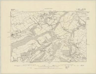 Herefordshire III.SW - OS Six-Inch Map