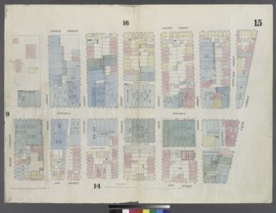 [Plate 15: Map bounded by Canal Street, Elm Street, Pearl street, Church Street]