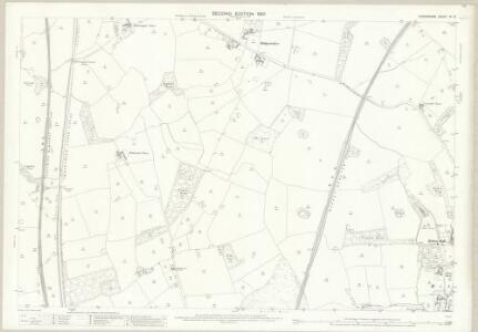 Shropshire IX.10 (includes: Adderley; Norton In Hales) - 25 Inch Map