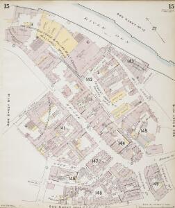 Insurance Plan of Sheffield (1896): sheet 15