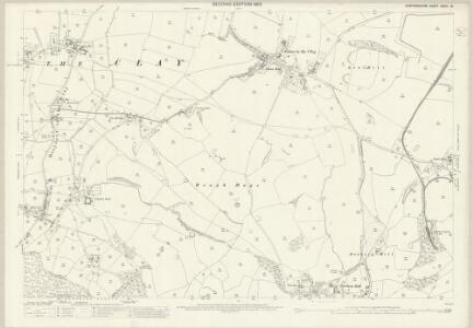 Staffordshire XXXIII.13 (includes: Draycott In The Clay; Hanbury) - 25 Inch Map