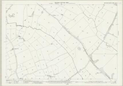 Northamptonshire XXX.6 (includes: Cottesbrooke; Guilsborough; Naseby; Thonby) - 25 Inch Map