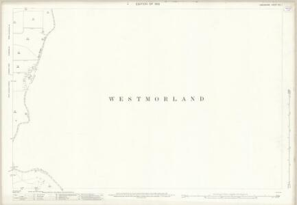 Lancashire XIII.1 (includes: Cartmel Fell; Upper Allithwaite; Witherslack) - 25 Inch Map