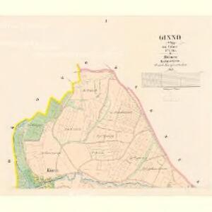 Ginno (Cyno) - c2917-1-001 - Kaiserpflichtexemplar der Landkarten des stabilen Katasters