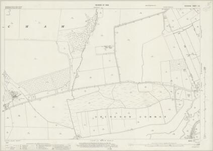 Berkshire X.5 (includes: Abingdon; Abingdon St Helen Without; Marcham) - 25 Inch Map