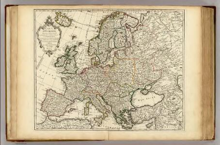 Carte d'Europe.