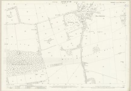 Yorkshire CVIII.15 (includes: Heslerton; Scampston) - 25 Inch Map