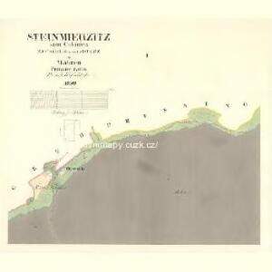Steinmierzitz - m2833-1-001 - Kaiserpflichtexemplar der Landkarten des stabilen Katasters